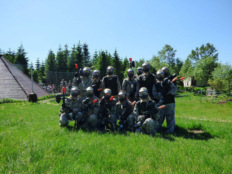 Paintball bursdag